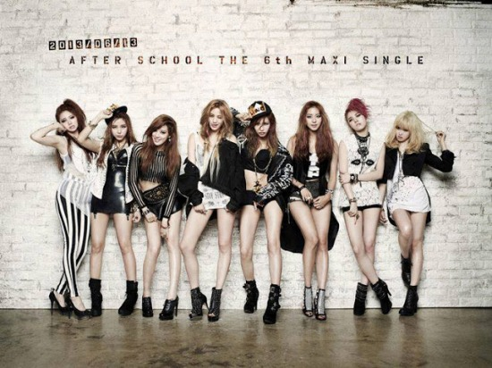 After School Comeback Dengan Single Maxi ke 6