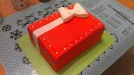 Červená torta