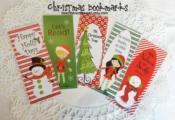 Add a Bookmark to the kids Christmas Books