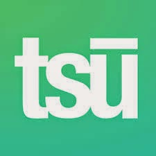 Follow me on tsu