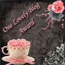 βραβείο απο τη Βάλια .Ευχαριστώ!!