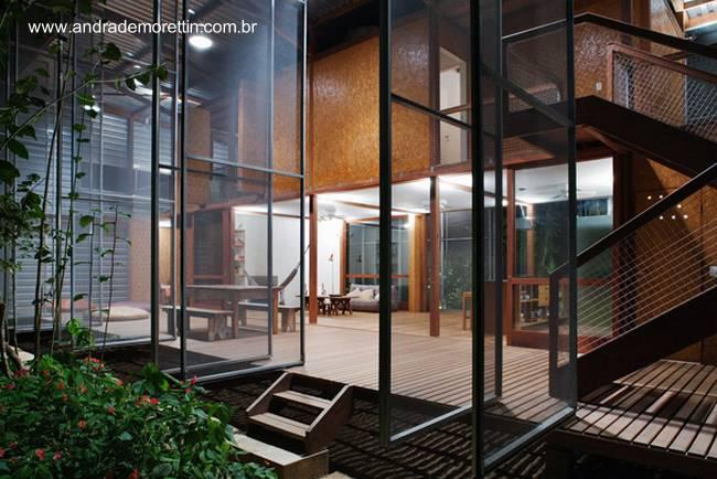 Arquitectura de casas casa prefabricada tropical de - Casas de madera tropical ...
