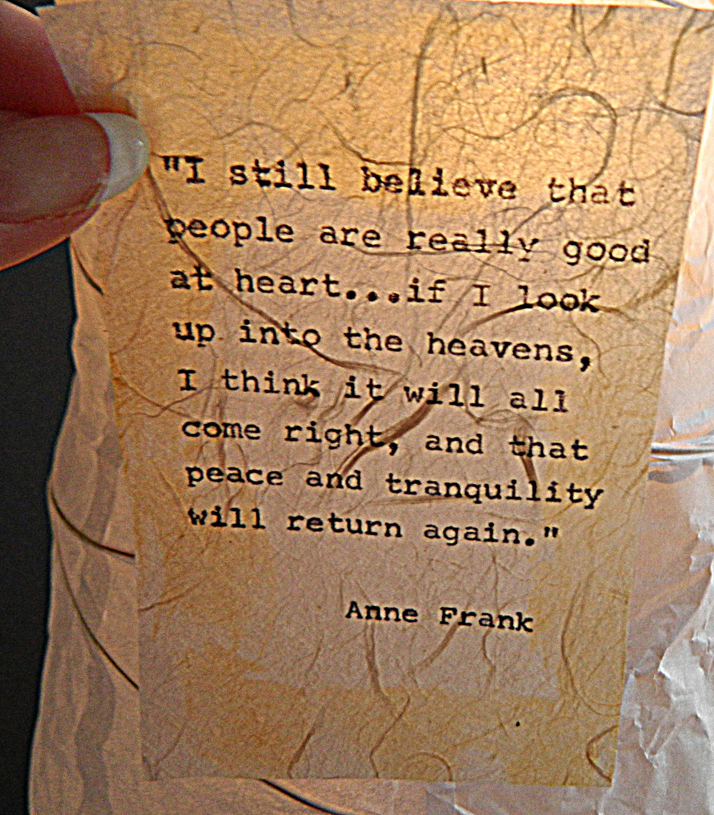 diary of anne frank essays
