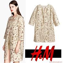 Princess Victoria Style H&M Lace Coat, CHANNEL Bag, TABITHA SIMMONS Pumps