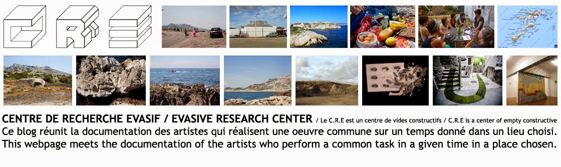 c.r.e / centre de recherche évasif / evasive research center
