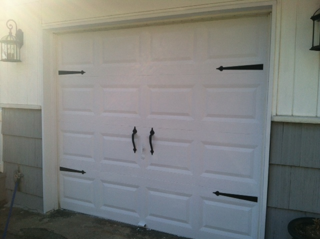 Maximum Style Modest Budget Garage Door Makeover