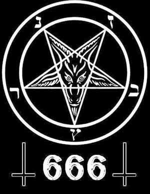 simbol angka 666