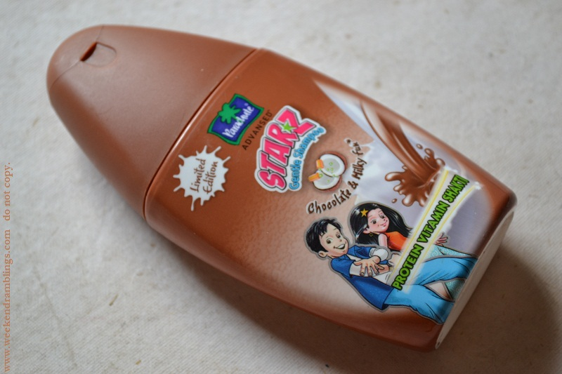 Parachute Advansed Starz Gentle Shampoo Chocolate and Milky Fun review