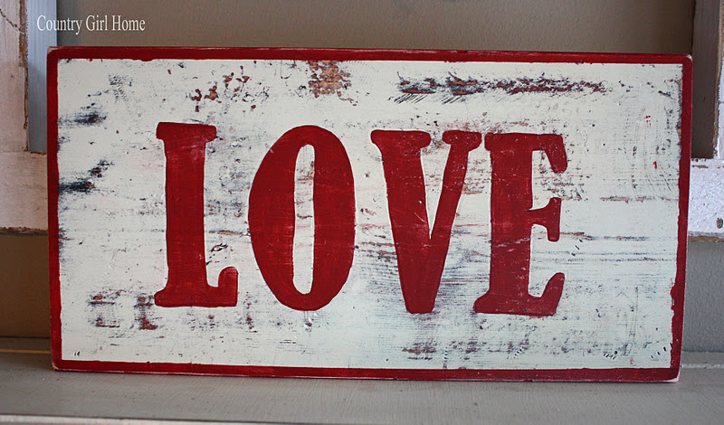 i love old signs so i made a few i used a tutorial from funky junk interiors on how to make old signs here is the link check out her blog it
