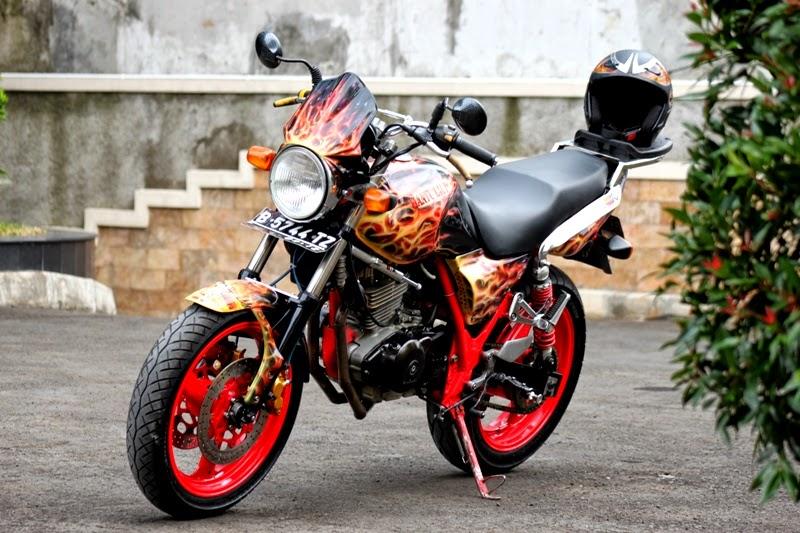 Modifikasi Suzuki Thunder 250 Terbaru