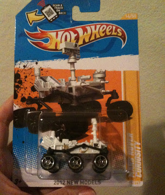 Hotwheels Mars Rover