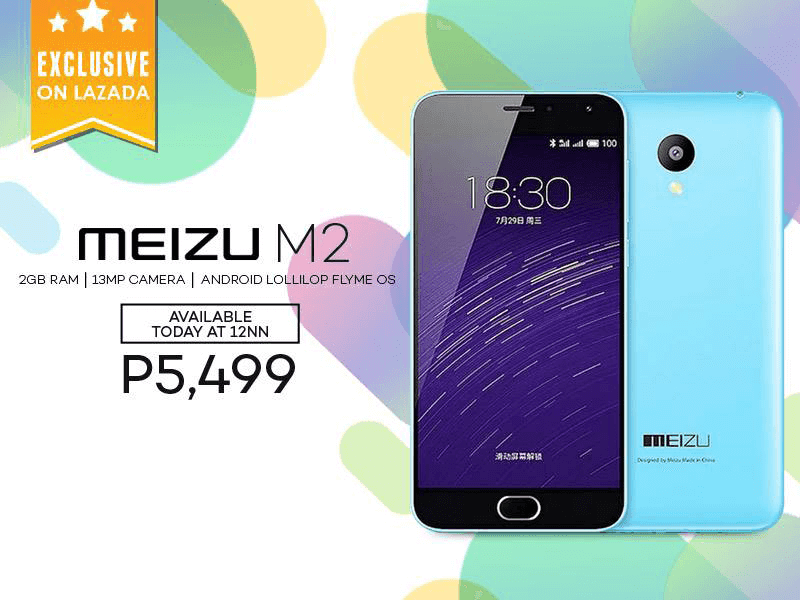 Meizu M2 Will Be On Sale Today! Get This LTE Powered Handset With 64 Bit Processor For Just 5499 Pesos!
