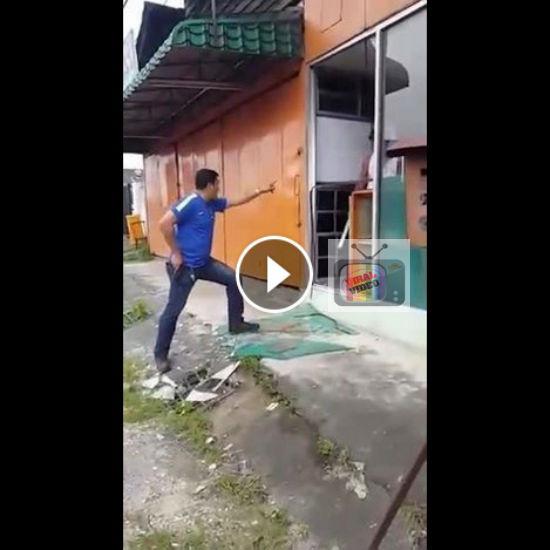 Punca Sebenar Lelaki Cabar Polis Tembak Dirinya