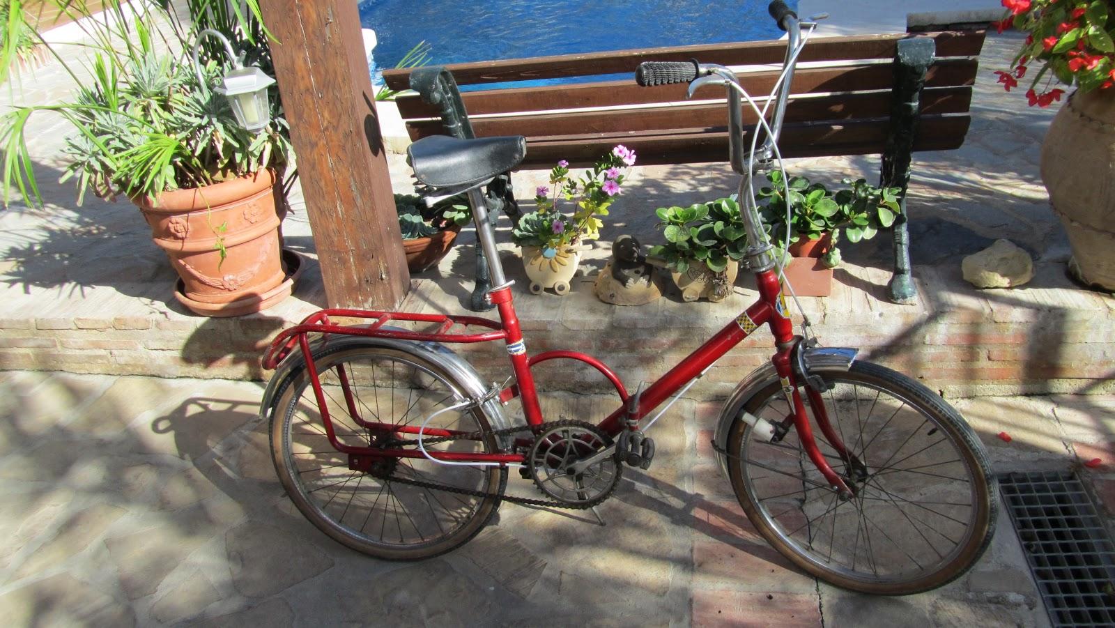 Nueva adquisici n abelux roja rik rides restauracion for Bicicletas antiguas nuevas