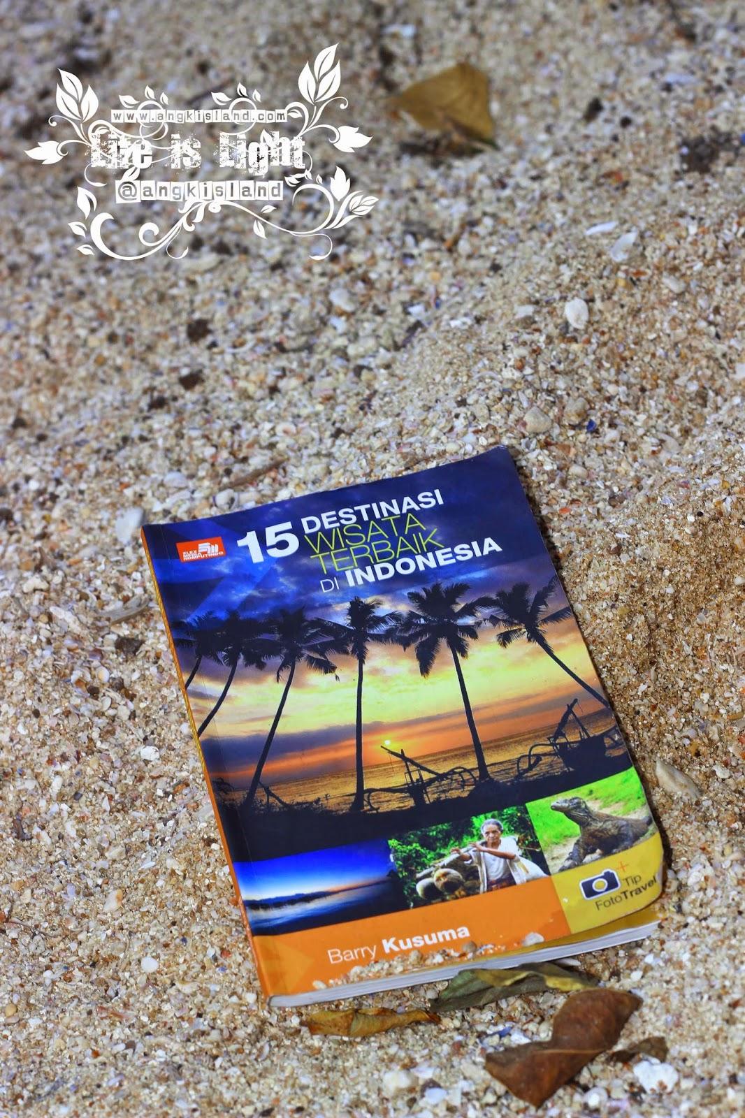 buku 15 Destinasi Terbaik Di Indonesia