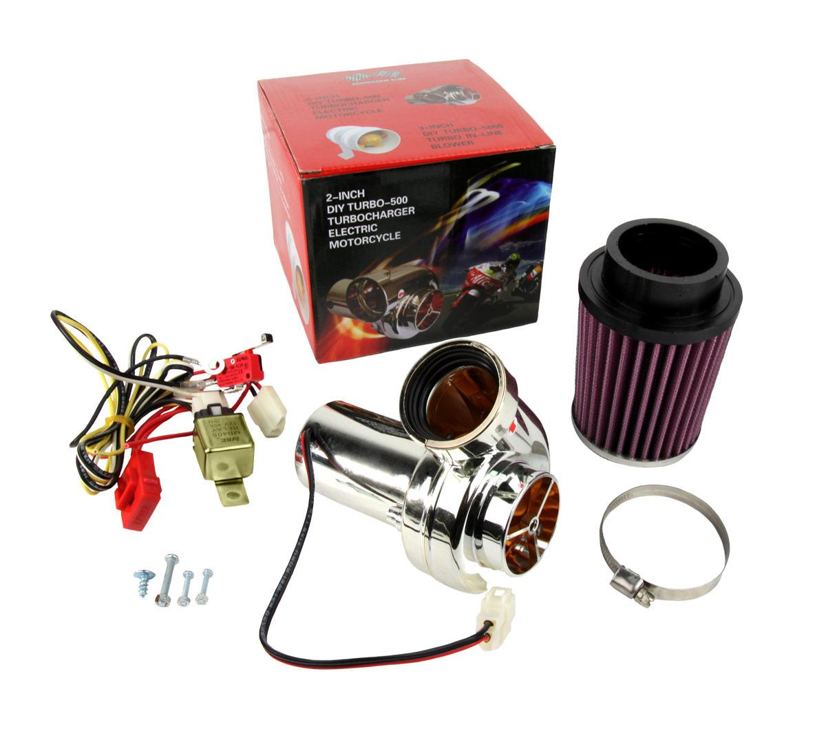 Electric Turbochargers: Auto Accessories And Parts: Electric E-Supercharger Intake