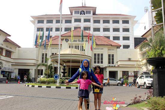 Hotel di Depan Malioboro apa?? Grand Ina Muara