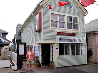 Photo of Charlie at the PO Cafe in Provincetown, MA