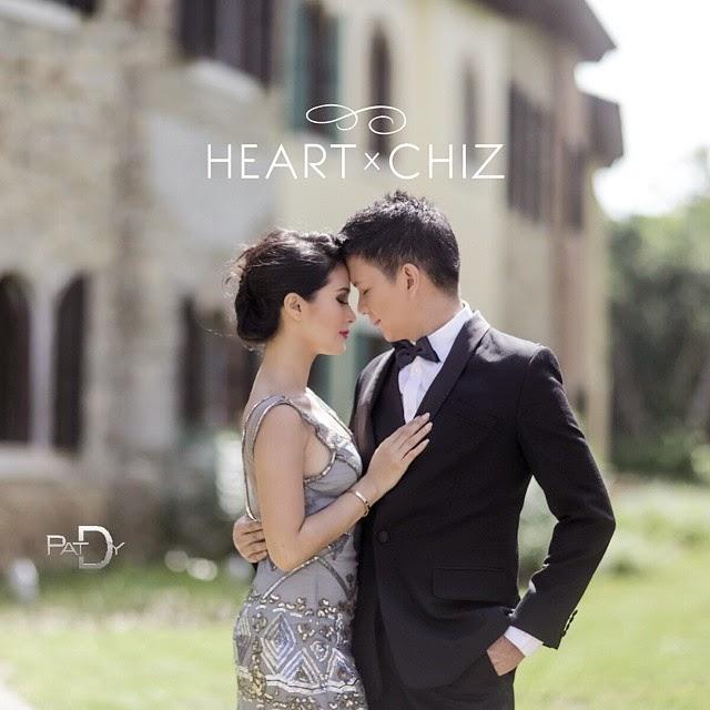Heart Evangelista - Chiz Escudero pre-nuptial photo