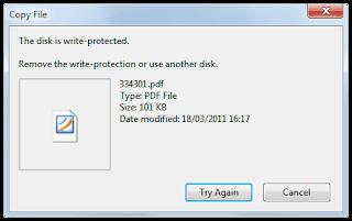 ... Protect (Cara Menghilangkan Write Protect pada MMC, FD, dan SD card
