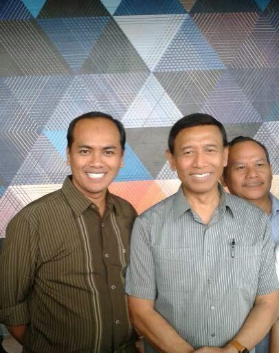 Kang Miftah Bersama Wiranto