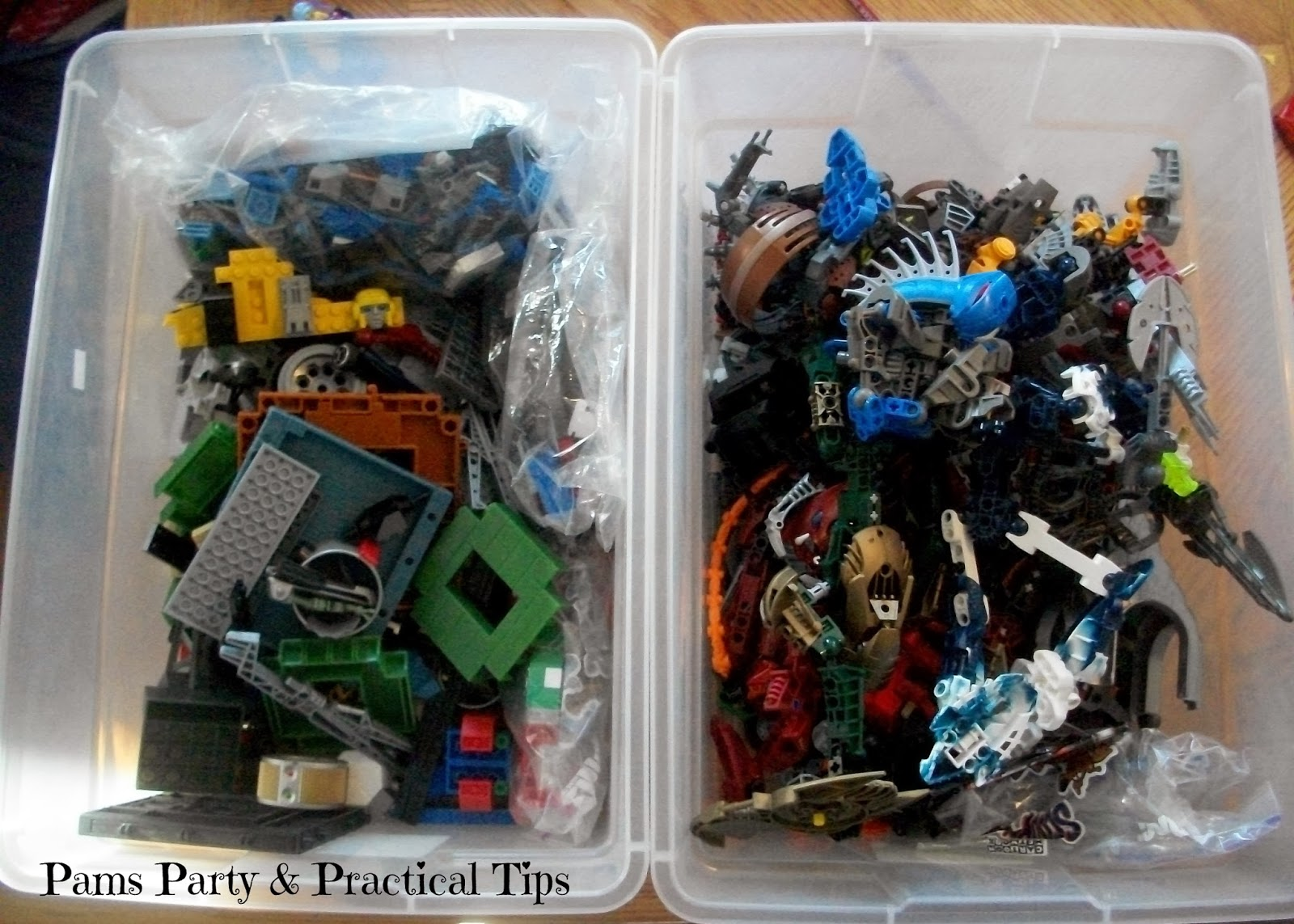 LEGO Movie Party Be a Master Builder Activity