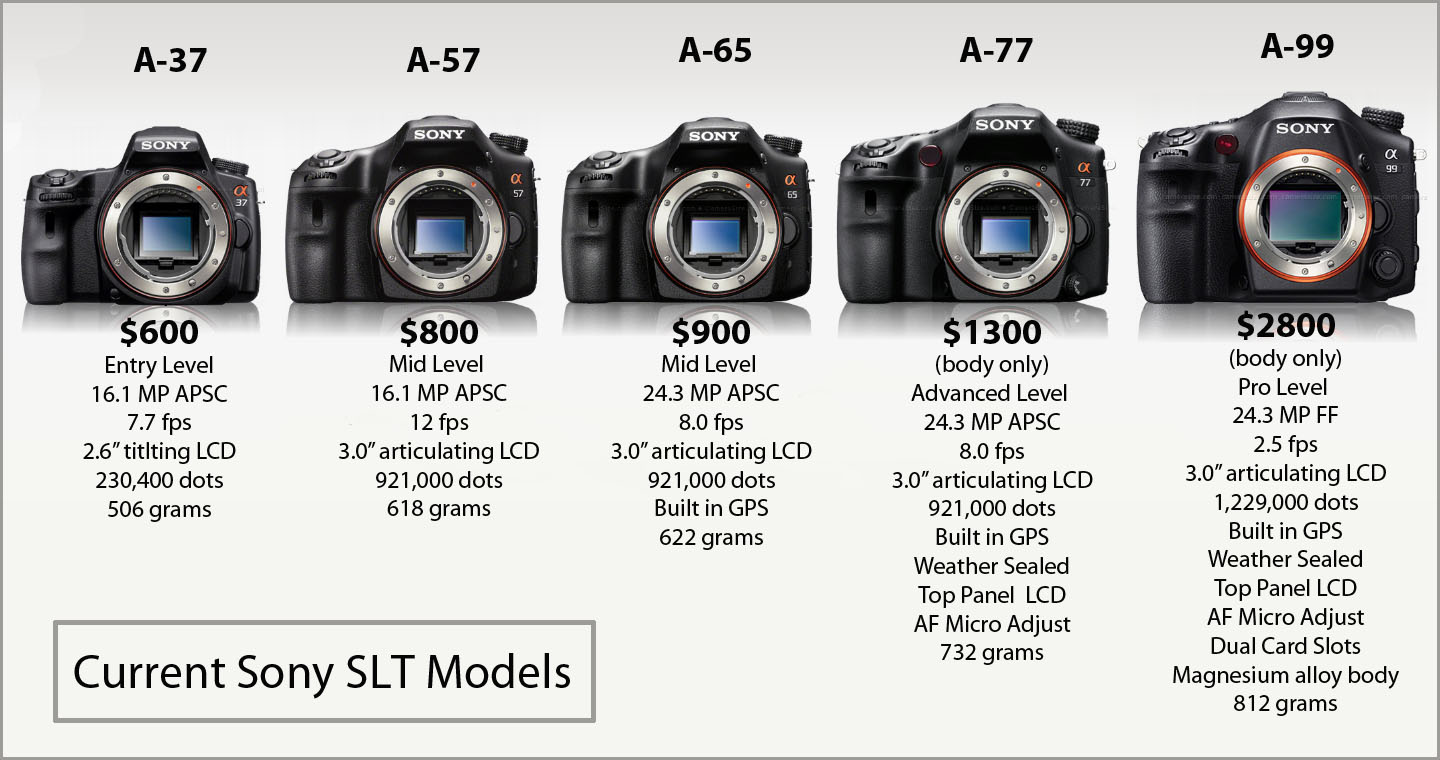 For Sony, one size doesn\'t fit all | Decent Exposures