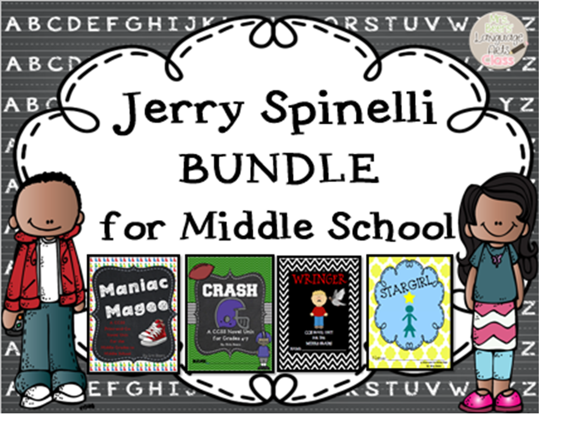 http://www.teacherspayteachers.com/Product/Jerry-Spinelli-BUNDLE-for-Middle-School-1085865