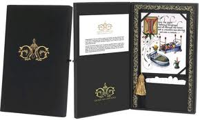 The abcd diaries unique gift idea gilded age greetings gilded age greetings the designers and artisans of handmade custom luxury greeting cards considered to be the most expensive in the world m4hsunfo