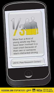 cell phone v5 with glee%255B1%255D Glee PSA on Distracted Driving