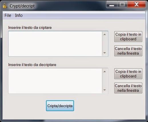 Tips tricks come criptare e decriptare una stringa o un for Disegno una finestra testo