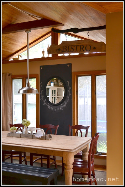 Hanging Bistro Sign www.homeroad.net