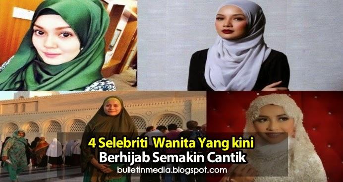 4 Selebriti Wanita Yang Kini Berhijab Semakin Cantik