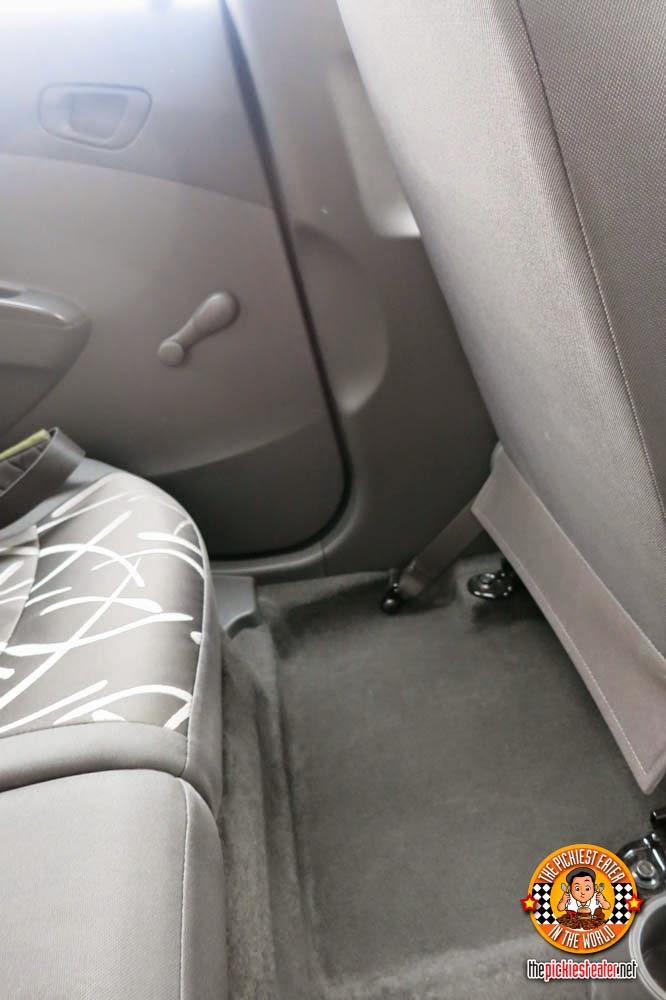 Chevrolet Spark back seat