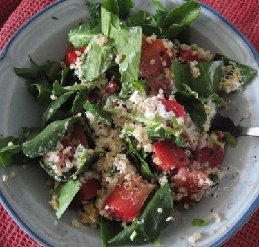 quinoa beet salad