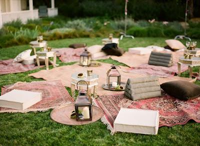 outdoor lounge, gathering