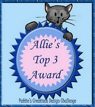 Allie's Top three Award