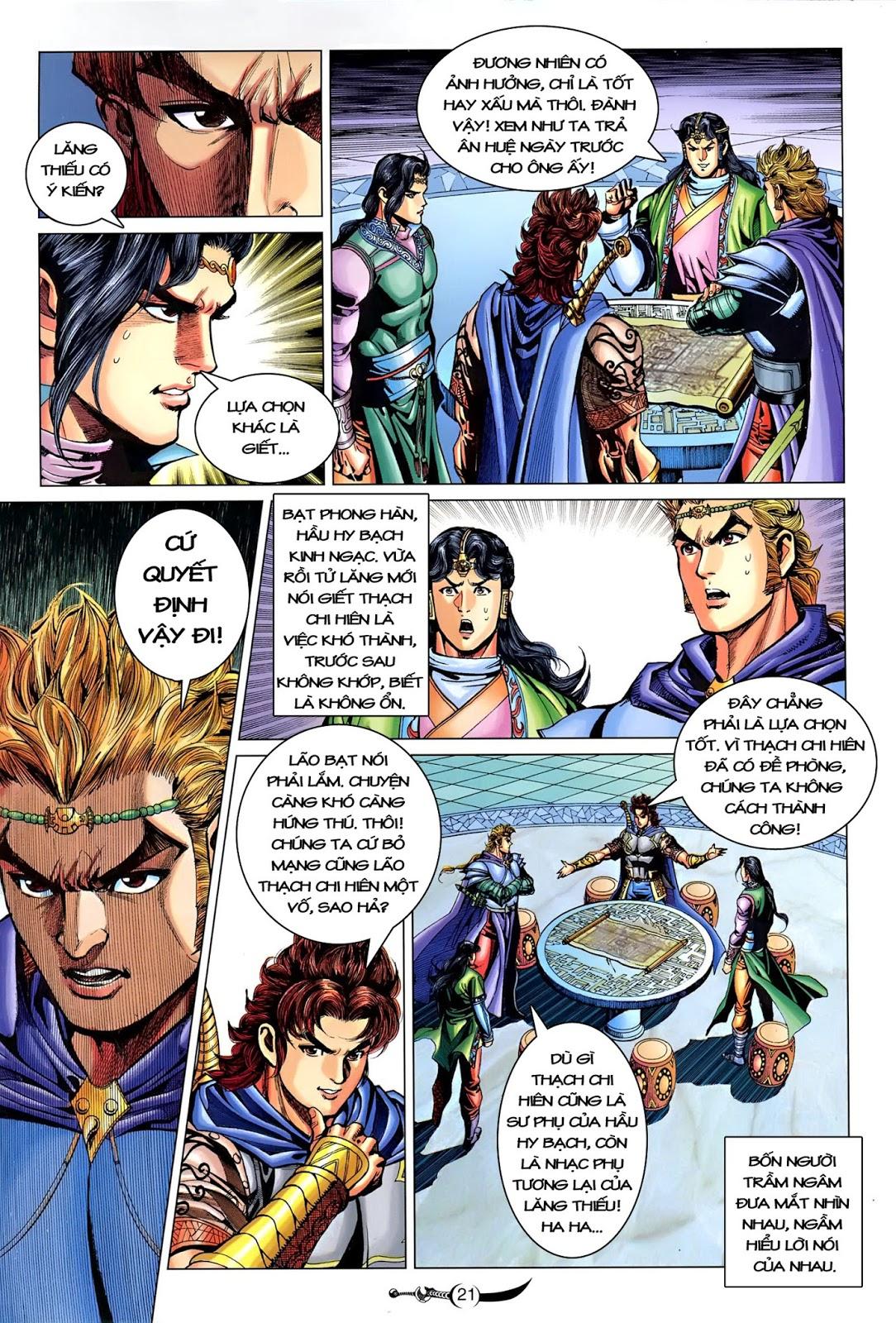 Đại Đường Song Long Truyện chap 216 - Trang 23