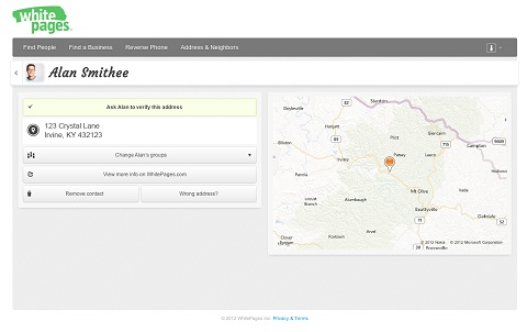 finding addresses online