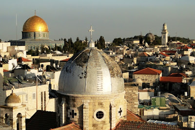 Jerusalen Vistas desde los tejados