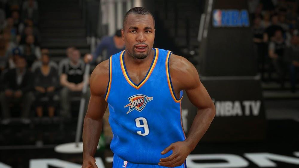 OKC Thunder Christmas Jersey | NBA 2K15