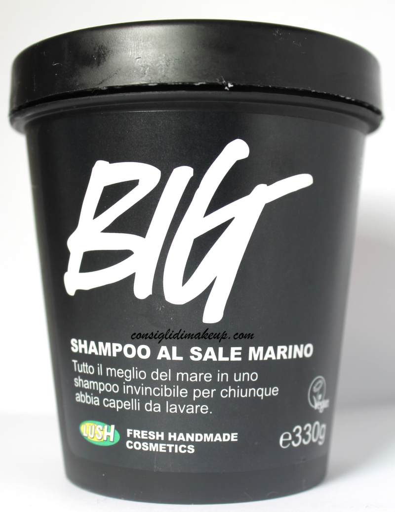 Review: Big, Shampoo al sale marino - Lush