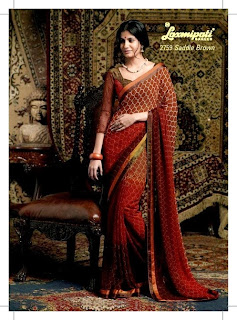 latest designer embroidered sarees