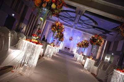 Crystal Wedding Ceremony Decoration Ideas