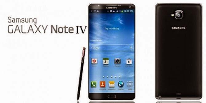 Samsung Galaxy Note 4, Especificaciones y Características