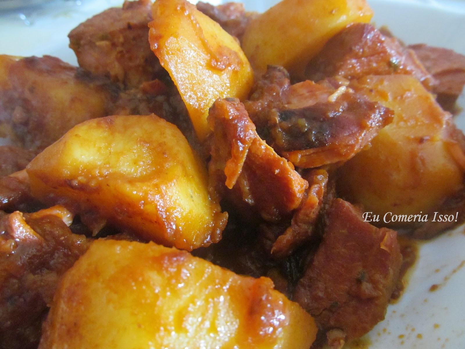 Conhecido Eu Comeria Isso!: Lombinho de Panela com Batatas GA96