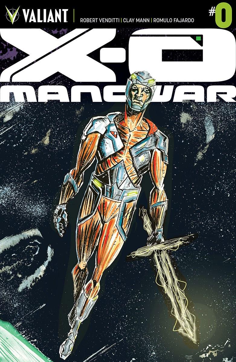 Valiants  X-O MANOWAR #0 Cover Art Preview
