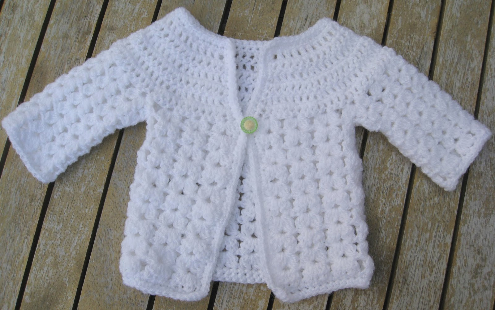 Crochet Pattern Central Baby Cardigans : Sammys Stitches