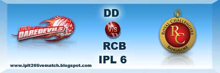DD vs RCB Watch Full Highlight DD vs RCB Full Scorecards ipl 6
