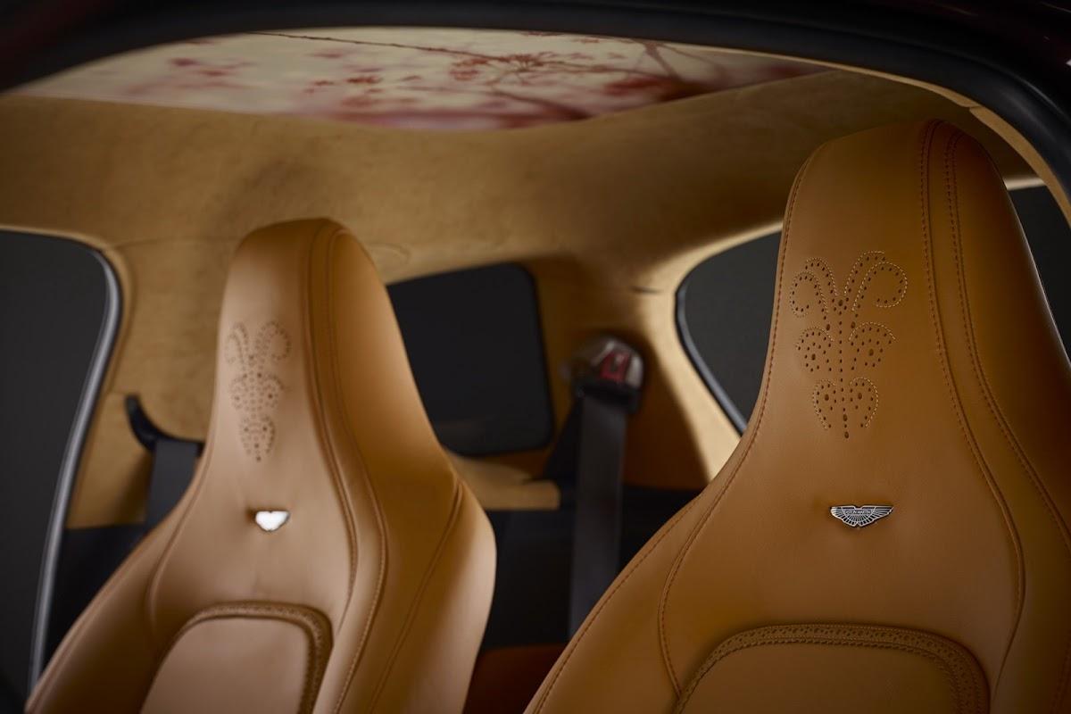Aston Martin Virage with Q customizations